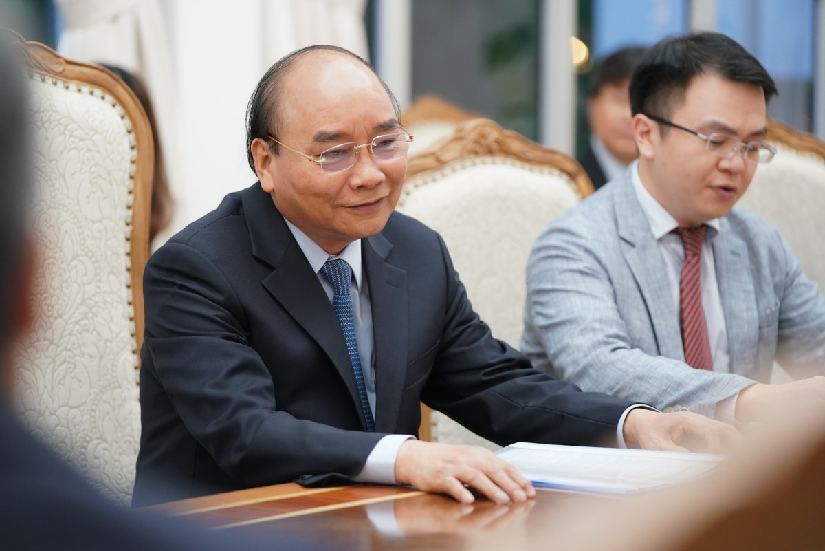 Prime minister Nguyen Xuan Phuc on new Vietnam investment law