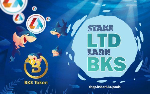 Brand new LTD staking pool on KShark.io