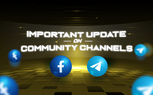 Important Update on Official Community Channels