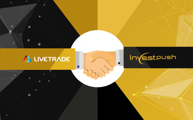 LiveTrade and Investpush Partnership